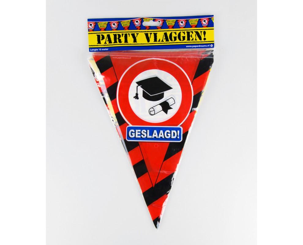 Vlaggenlijn Party Geslaagda