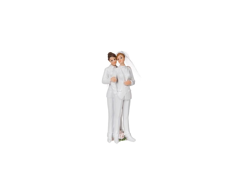 Bruidspaar-vrouwen