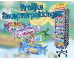 Snoepverpakkingen