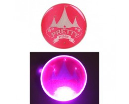 Button pink Circus