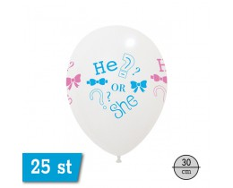 Ballon Gender Reveal HeorShe