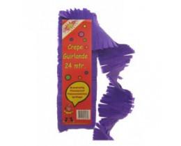 Slinger Crepe paars 24