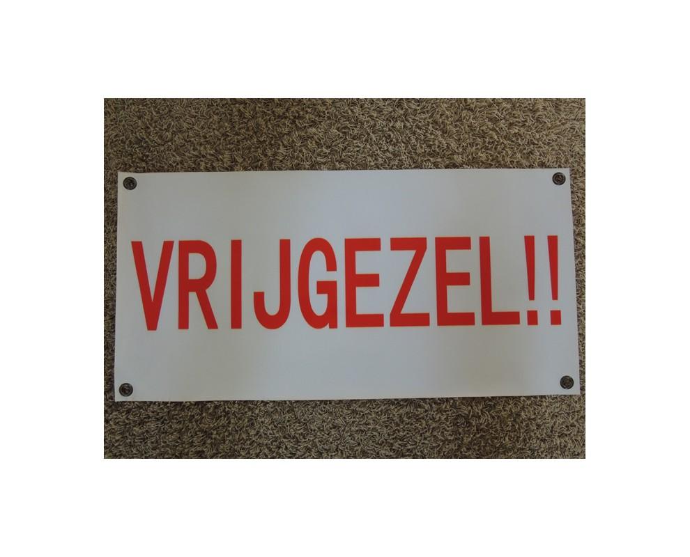 Banner Vrijgezel