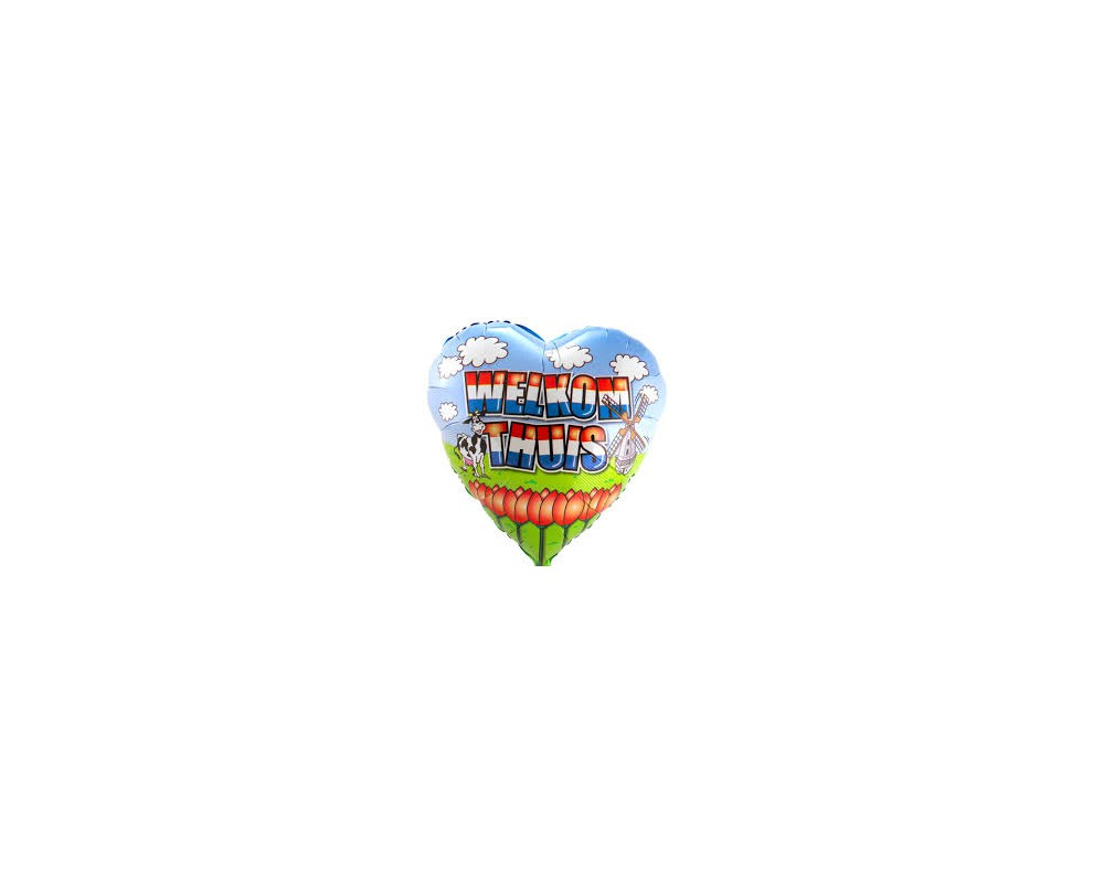 Folieballon Welkom Thuis45