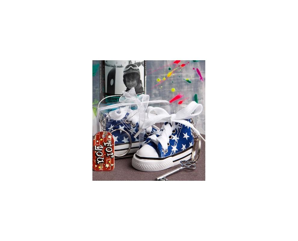 Sleutelhanger Sneaker blauw