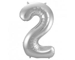 Ballon 2 zilver