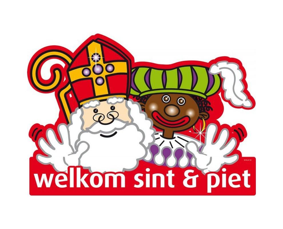 Deurbord Sint en Piet