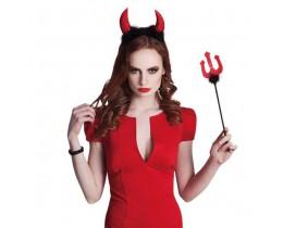 Diadeem Duivel met drietand