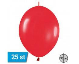 link o loon ballonnen rood