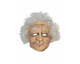 Masker oude vrouw latex
