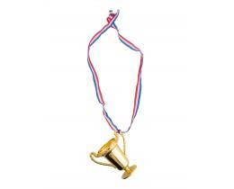 Trofee aan halslint