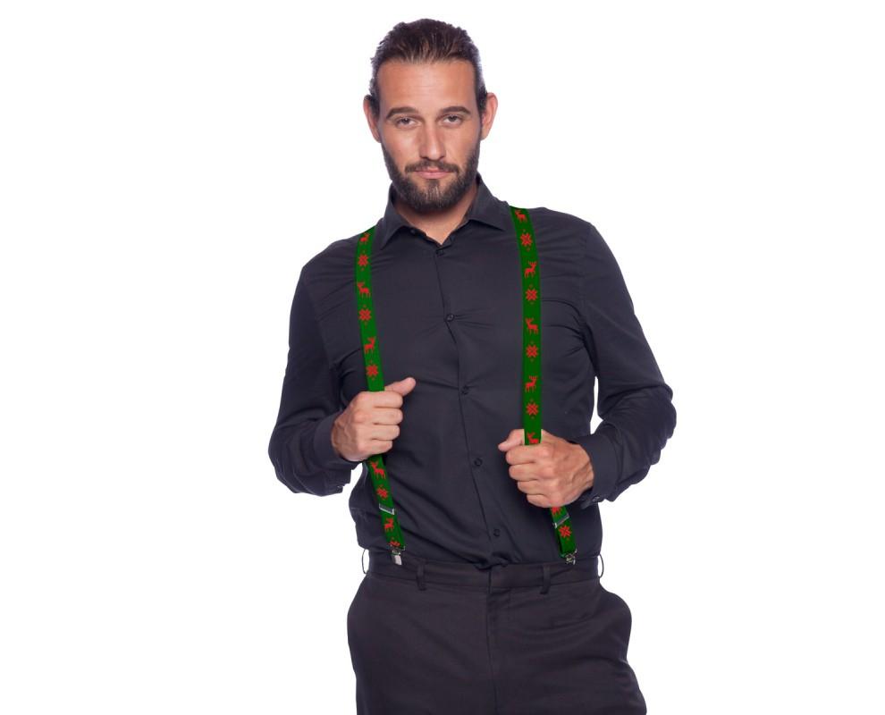 Kerst Bretels groen