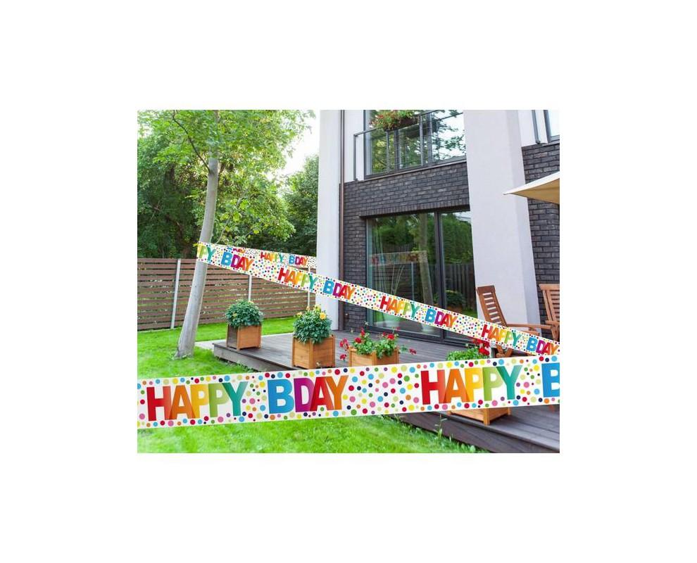 Afzetlint Happy Bday