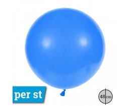 Reuze Ballon blauw 48 cm