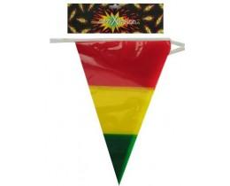Vlaggenlijn rood-geel-groen