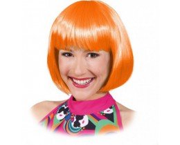 Pruik Sexy Lola oranje