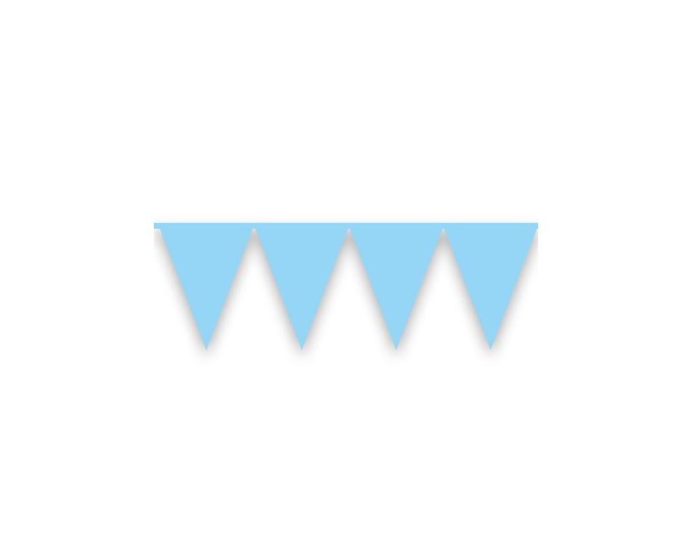Vlaggenlijn Jongen Babyblauw