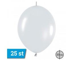 link o loon ballonnen wit