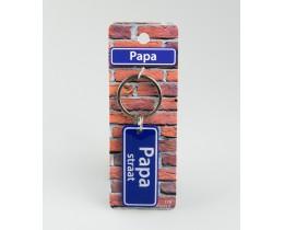 Straatsleutelhanger Papa