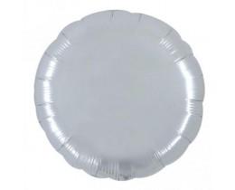 Reuze Folie ballon Rond Zilver