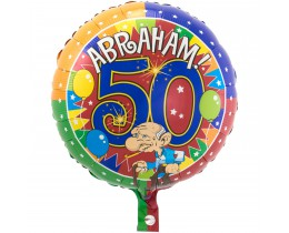 Folie ballon Abraham