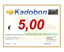 Kadobon 5 * 2019