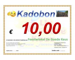 Kadobon 10 * 2019