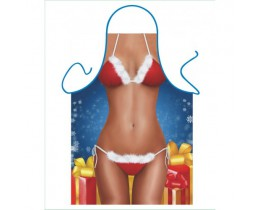 Schort Santa Bikini
