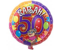 Folie ballon Sarah