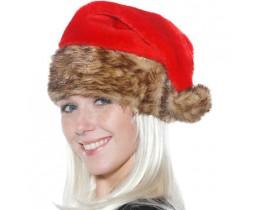 Kerstmuts met bontrand