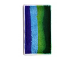 Splicake block groen blauw