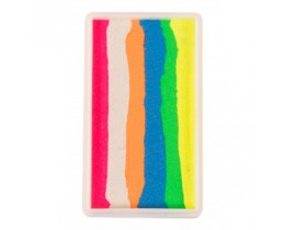 Splitcake block Multicolour licht 28 gram