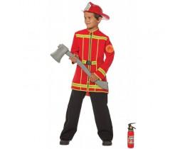 Brandweerjas rood