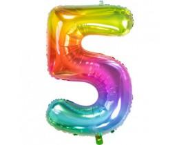 Ballon 5 rainbow