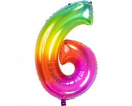 Ballon 6 rainbow