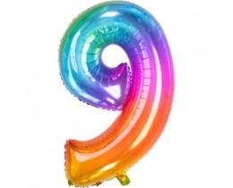 Ballon 9 rainbow