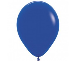 Ballon Fashion Royal blue 30cm