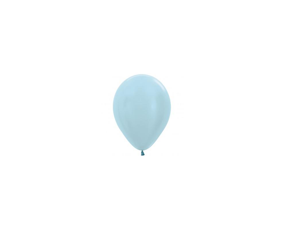 Ballon pearl blue 30cm