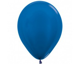 Ballon Metallic Blue 30cm