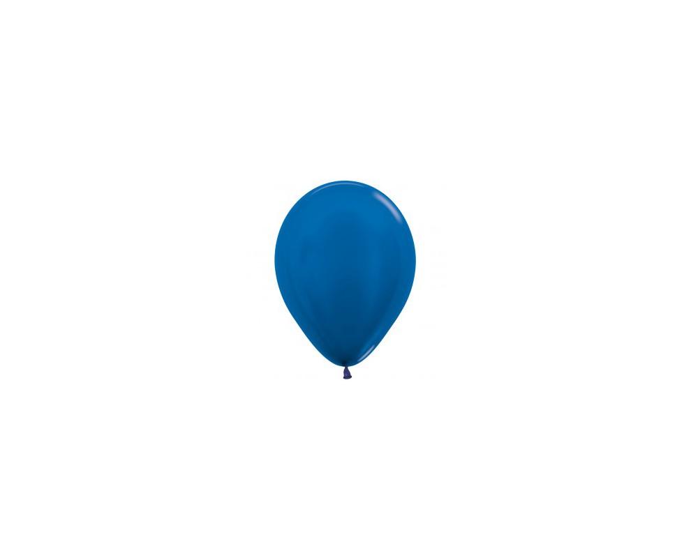 Ballon Metallic Blue 30cm