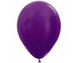 Ballon Metallic violet 30cm