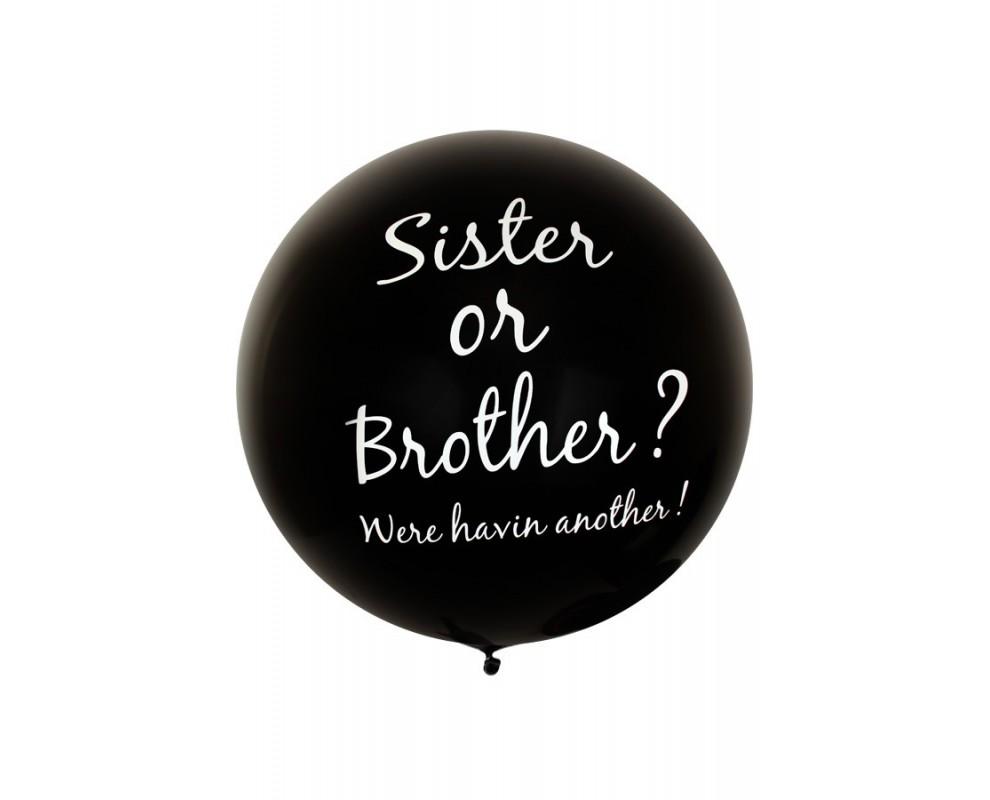 Ballon Sister or Brother