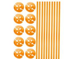 Balllonstokjes Oranje
