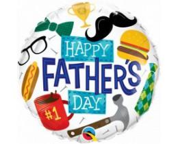Folieballon Happy Fathersday