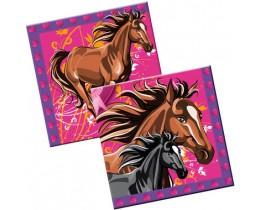 Servetten Paarden