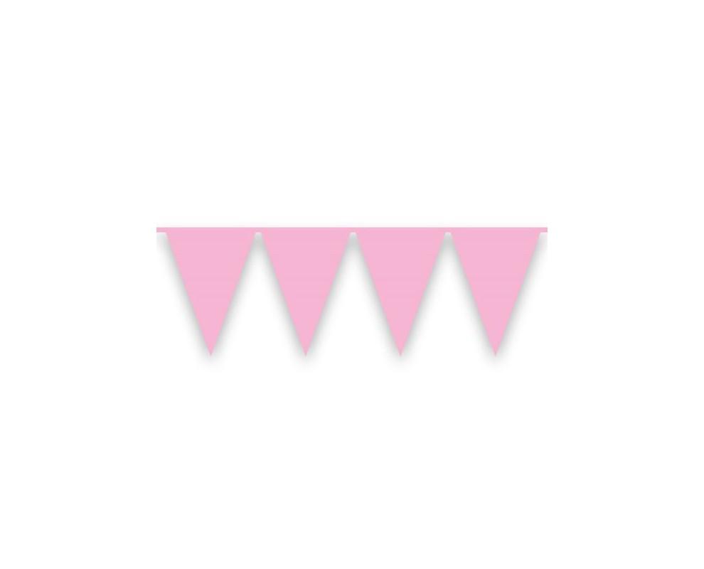 Vlaggenlijn Meisje babyroze