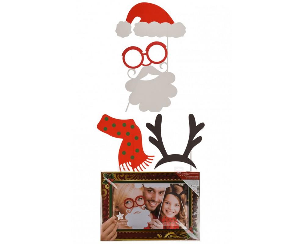 Photobooth props Kerst