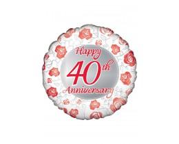 Folie ballon 40 jarig huwelijk