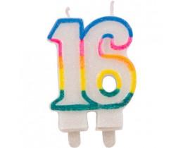 Cijferkaars 16 jaar