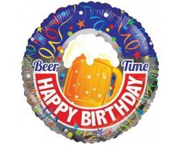 Folieballon Birthday Beer